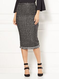 Shop Eva Mendes Collection - Elettra Tweed Skirt. Find your perfect size online at the best price at New York & Company.