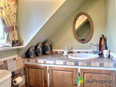 Salle de bain de rêve à voir à Ste-Luce-sur-Mer #DuProprio