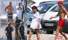A Agência Tributária e Aduaneira espanhola entrou esta quarta-feira no iate de Cristiano Ronaldo, na ilha de Formentera, junto a Ibiza