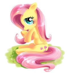 Fluttershy... Whoever drew this, is under the dictionary with the word AWESOME!!!