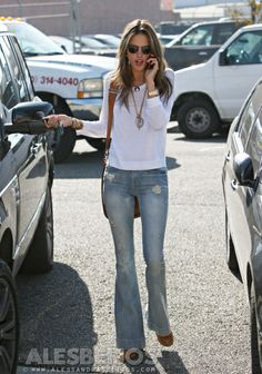 Alessandra Ambrosio Celebrity Sightings In Los Angeles - December 13, 2013
