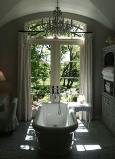 French Provence Farmhouse Bath, Ca. kpoarchinc.com