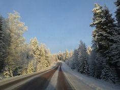Op weg naar het Rädsjon bij Orsa Grönklitt