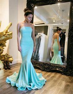 Charming Prom Dress,Mermaid Prom Dress,Sexy Backless Prom Dress,Long