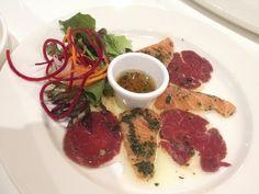 Fresh Salmon & Beef Carpaccio @ Tapas Joint, Sydney