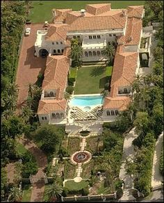 One of Many Palm Beach Mansions Found On The Billionaire Mailing List
