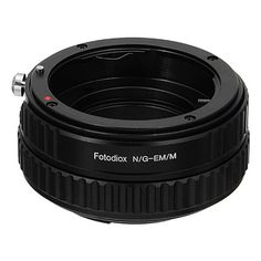 Fotodiox NikG-Fxrf-Macro Lens Mount Adapter - Nikon Nikkor F Mount G-Type D-SLR Lens To Fujifilm X-Series Mirrorless Camera Body with Built in Aperture Control Dial & Macro Focusing Helicoid, As Shown Eos, Canon Ef, Photo Accessories, Fujifilm, Digital Camera, All In One, Minolta Md, Type