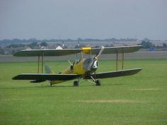 Tiger Moth at Audley End
