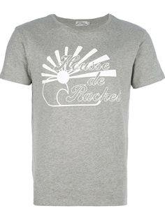 KITSUNÉ TEE Camiseta Cinza.
