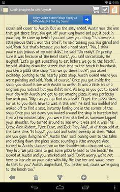 Pt. 4 of my Austin imagine for Ally (: