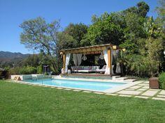 Structure Home Clients Exterior Pergola Lounge.