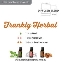 A great blend to diffuse for grounding and clarity