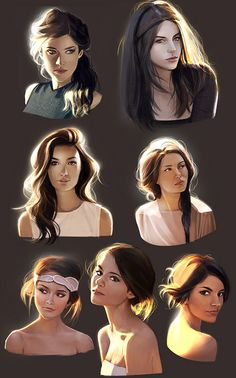 How to light Your bust 3 by mannequin-atelier.deviantart.com on @deviantART  Character Design Illustration Inspiration