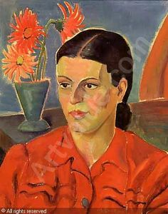 A woman with a ribbon in her hair was sold by Stephan Welz & Co. & Sotheby's, Johannesburg, on Monday, May Klee Travel Through Europe, South African Artists, Moda Vintage, London Art, Her Hair, Faces, Portraits, Paintings, Woman