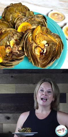 These Roasted Artichokes with a Garlic Dipping Sauce are pressure cooked and seasoned with lemon and tamari then roasted to crispy, tender perfection. Grilled Artichoke, Artichoke Recipes, Pressure Cooker Artichokes, Roasted Artichokes, Pasta With Alfredo Sauce, Chicken Parmesan Recipes, Chicken Dips, Ninja Recipes, Dipping Sauces