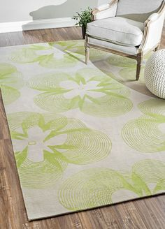Rugs USA Nepalese Hand Knotted Wool and Silk Floral EV07 Green Rug. Rugs USA Columbus Day $99 Sale! Area rug, rug, carpet, design, style, home decor, interior design, pattern, trends, home, statement, fall,design, autumn, cozy, sale, discount, interiors, house, free shipping, Halloween, fall decorations, fall crafts, fall décor, great winter, winter, warm, furniture, chair, art.