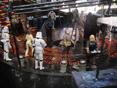 Star Wars Celebration V - Cloud City carbon freezing chamber diorama | por Doug Kline