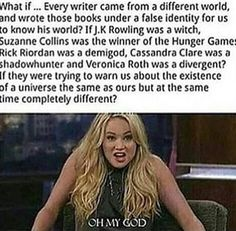 And what if James Dashner is trying to warm us about the future?