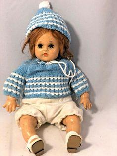 """Vintage 1930'S 11"""" Madame Alexander """"Butch""""/Bitsy Face Composition Doll #MadameAlexander"""
