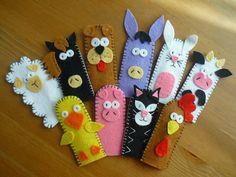 Felt Puppets, Felt Finger Puppets, Hand Puppets, Diy Quiet Books, Felt Quiet Books, Craft Activities For Kids, Crafts For Kids, Felt Crafts, Easy Crafts