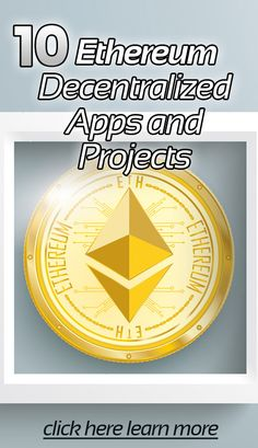 10 Ethereum Decentralized Apps and Projects - Ethereum Mining Rig - Ideas of Ethereum Mining Rig - 10 Ethereum Decentralized Apps and Projects Earn Money From Home, Make Money Online, How To Make Money, Cryptocurrency Trading, Bitcoin Cryptocurrency, Ethereum Mining, Best Crypto, Bitcoin Business, Coin Prices