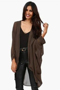 Love this!  Draped and comfy looking, but cute!