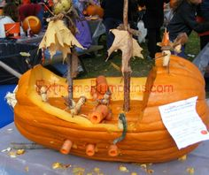 The Pirate Ship Pumpkin