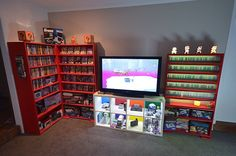 "219 Likes, 11 Comments - @nes_geek on Instagram: ""The games room as from today . I'll try leave it like this for a while #gamesroom #gameroomsetup…"""