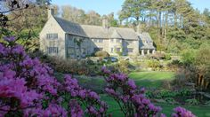 The National Trust's Coleton Fishacre, Devon, is open daily from Saturday 10 February 2018 Southern Railways, South Devon, Devon And Cornwall, Arts And Crafts House, English House, National Trust, Spring Garden, Days Out, Travel Posters