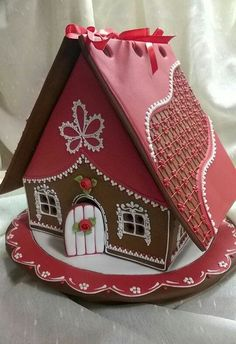 Christmas. Winter. New Year. Gingerbread House.