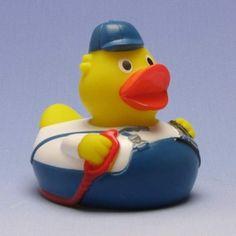 Duckshop - der Shop für Badeenten und Quietscheentchen - Quietscheente Tankwart