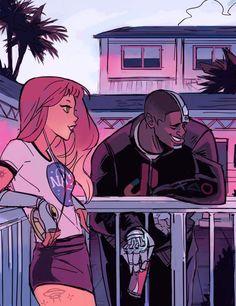Teen Titans by Gabriel Picolo