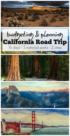 An epic two week family road trip through California national parks & major cities: Joshua Tree, Channel Islands, Los Angeles, Sequoia, Kings Canyon, Yosemite, & San Francisco. Join us for the ride and see if we can stick to our budget as we plan to have some major fun!