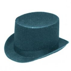 BLACK PERMAFELT TOP HAT