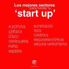 Los mejores sectores para fundar tu start up