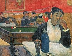 Paul Gauguin - Cafe in Arles