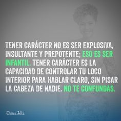 Carácter vs temperamento #strong women