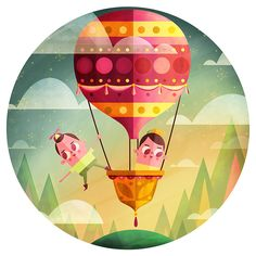 """Magical Graphic Design via Illustrator & Photoshop """"The Dreamers"""" by Aldo Crusher"""
