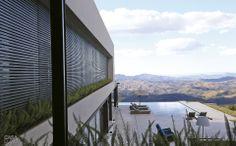 Casa no interior de Minas tem vista deslumbrante de Nova Lima - Casa