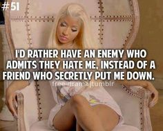 Nicki Minaj Quotes and Sayings - Bing Images Cute Quotes, Great Quotes, Funny Quotes, Inspirational Quotes, Random Quotes, Awesome Quotes, Sassy Quotes, Sarcastic Quotes, Quotable Quotes