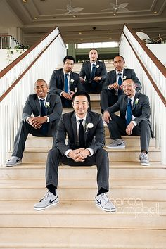 fantastic groomsmen photo