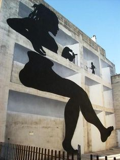 STREET ART - WOMAN - (StraatKunst) ♣️Fosterginger.Pinterest.Com♠️ More Pins Like This One At FOSTERGINGER @ PINTEREST No Pin LimitsFollow Me on Instagram @  FOSTERGINGER75Gay_Texas_Boys and ART_TEXAS