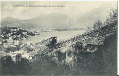 Lugano  The Funicolare Train  Vintage 1915 Unused by StarPower99, $3.00