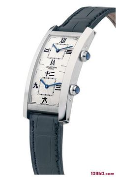 CARTIER dual-screen dual-time watches.CARTIER Chinese watches (1)