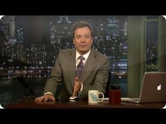 Thank You Notes - Late Night with Jimmy Fallon. Makes me so happy. Only other place besides home that everyone will join in singing kung fu fighting!