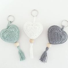 Crochet heart dishcloth gifts 22 new ideas Mode Crochet, Crochet Motif, Crochet Stitches, Crochet Patterns, Crochet Gifts, Crochet Yarn, Crochet Flowers, Crochet Toys, Crochet Keychain