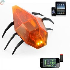 iMonitor iOS Remote Control Robot Cockroach Toy for iPhone/iPad/iPod Touch Cool Electronic Gadgets, Electronics Gadgets, Cool Gadgets, Ipod Touch, Ios, Robot Technology, Rc Robot, Gadget Shop, Toy Store