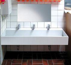 Waschrinne Waschrinnen Waschtische Waschtisch Wasche