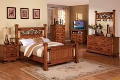 GB7496 - The Taylor Bedroom Collection: Queen Bed - Furniture2Go