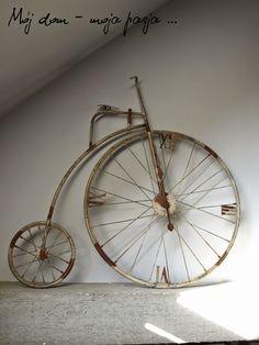 old bike, salon, retro, loft, vintage, home decor